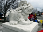 Snow Sculpture 1a