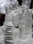 Snow Sculpture 9a