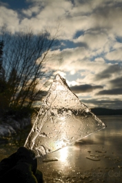 Lake Bellaire ice