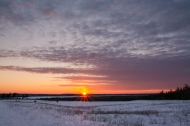 hilltop sunset-2